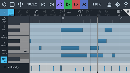 Cubasis LE 3 Trial - Music Studio and Audio Editor  Screenshots 6