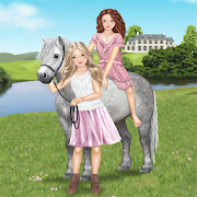 Pony and rider dress-up fun