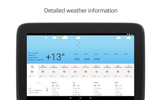 Yandex.Weather apktram screenshots 9