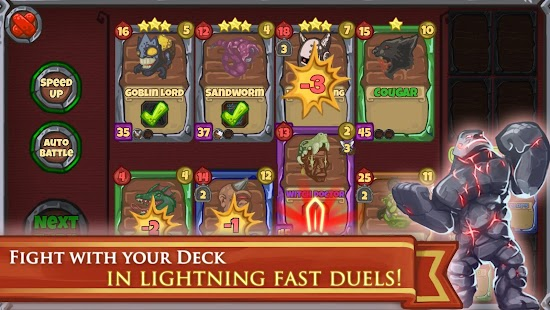Deck Warlords - TCG card game Screenshot