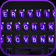 Neon Metal Business Keyboard Theme