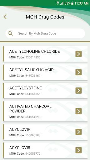 MOH Formulary  screenshots 5