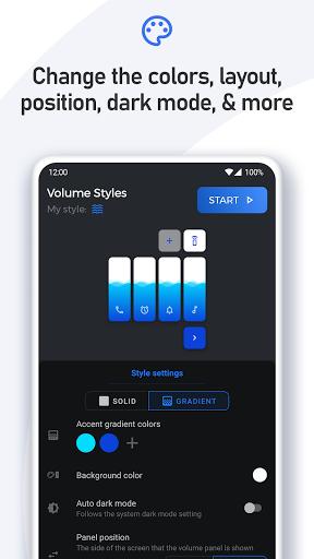 Volume Styles - Customize your Volume Panel Slider 4.1.3 Screenshots 21