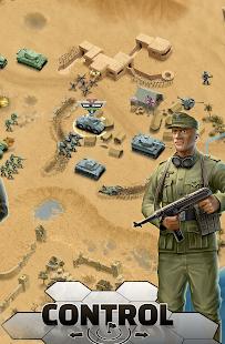 1943 Deadly Desert - a WW2 Strategy War Game screenshots 5