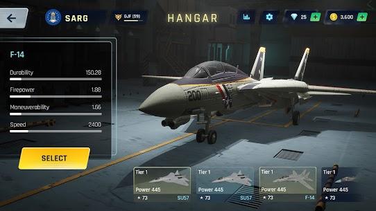 Sky Warriors: Airplane Combat Mod 2.0.5 Apk (Unlimited Money) 5