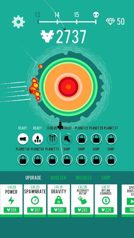 Planet Bomber!  poster 2