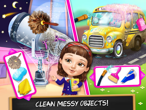 Sweet Baby Girl Cleanup 6 - School Cleaning Game  screenshots 21