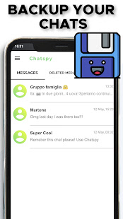 Recover Deleted Messages, Status Saver - ChatSave