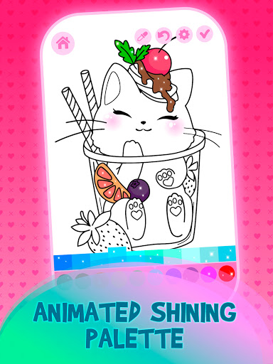 Animated Kids Coloring Book 3.4 screenshots 1