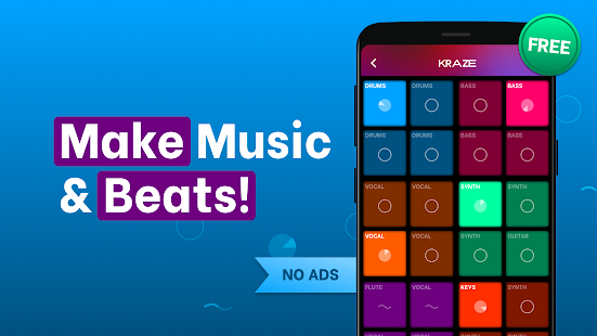 Splash - Music & Beat Maker: Record Your Own Songs Screenshot