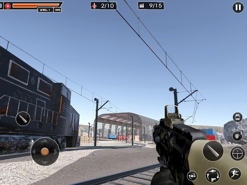 Screenshot 11 de Rangers Honor: Juegos Disparos juegos de pistolas para android