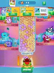 Om Nom Idle Candy Factory Mod Apk 0.14 (Free Shopping) 4