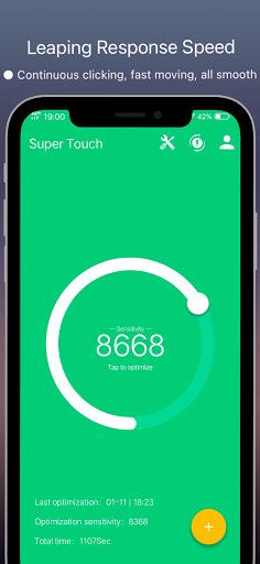Super Touch - speedy sensitivity 8.3 Screenshots 2