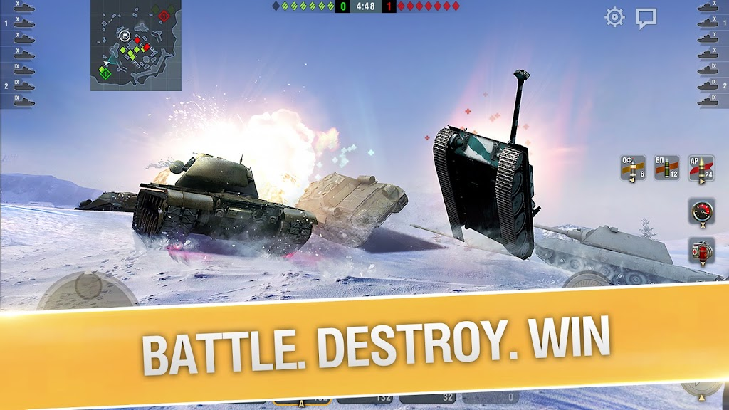 World of Tanks Blitz PVP MMO 3D tank game for free poster 2