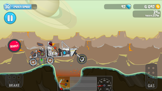 RoverCraft Mod Apk 2021 – [Your Space Car Mod + Unlimited Coins] 4