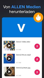 Downloader für alle Videos 2019 Screenshot