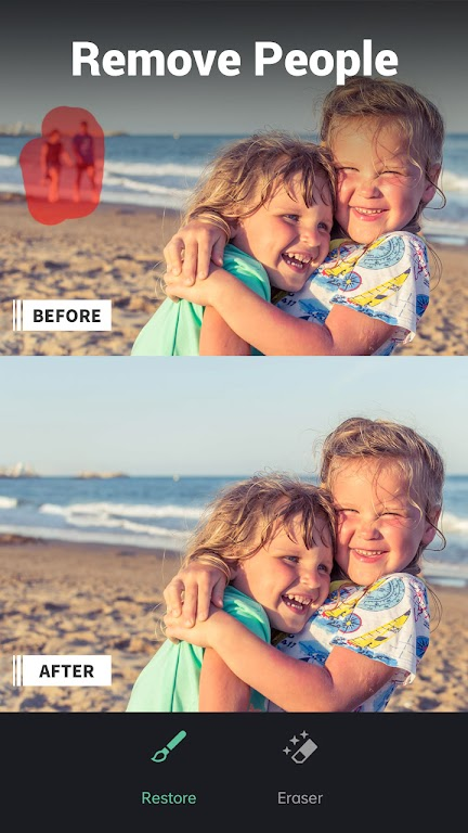 Retouch - Remove Objects & Photo Retouch Editor  poster 1