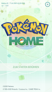 Pokémon HOME Screenshot