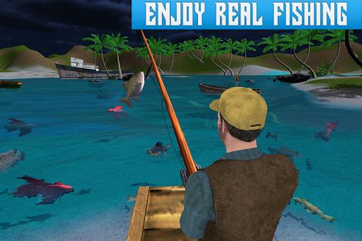 Boat Fishing Simulator: Salmon Wild Fish Hunting 1.5 screenshots 3
