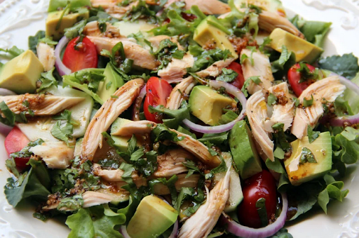 Foto do Salad recipes. Organic salads