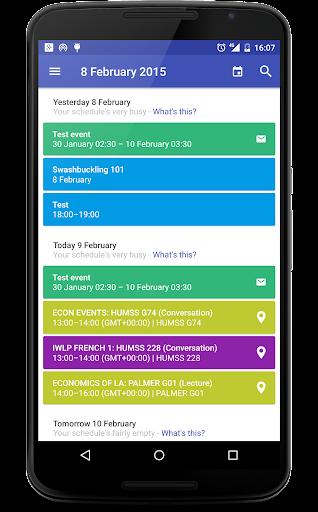 Today Calendar Pro  screenshots 3