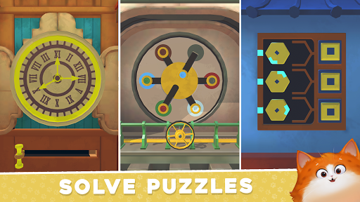 Cats in Time - Relaxing Puzzle Game  screenshots 2