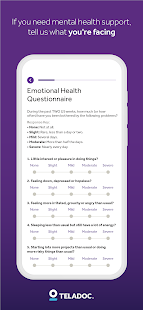 Teladoc | Online Doctors, Therapy & Nutrition 4.7 Screenshots 5
