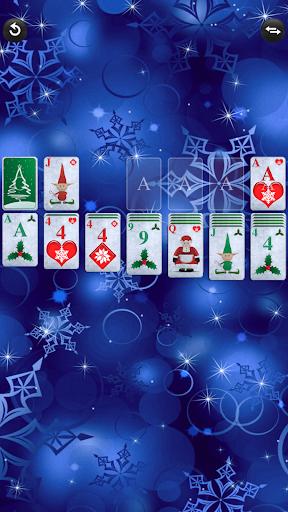 christmas solitaire screenshot 2