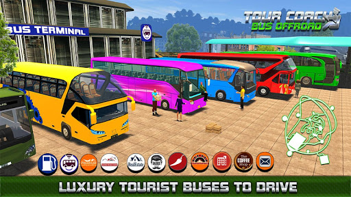 Tourist Coach Highway Driving 1.0.6 screenshots 2