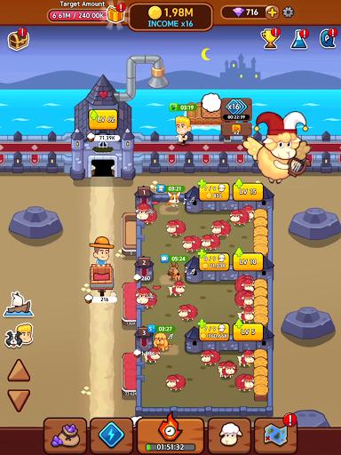 Sheep Farm : Idle Games & Tycoon screenshots 13