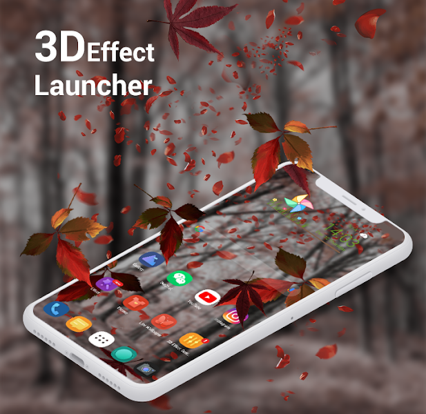 3D Effect Launcher - Cool Live Effect, Wallpaper