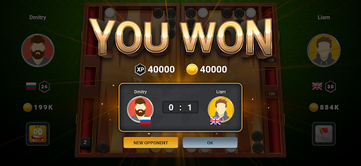 Backgammon Champs - Play Free Backgammon Live Game apkpoly screenshots 3