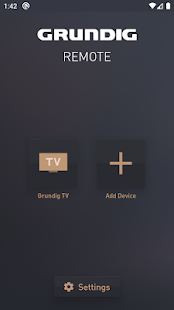 Grundig Smart Remote Screenshot
