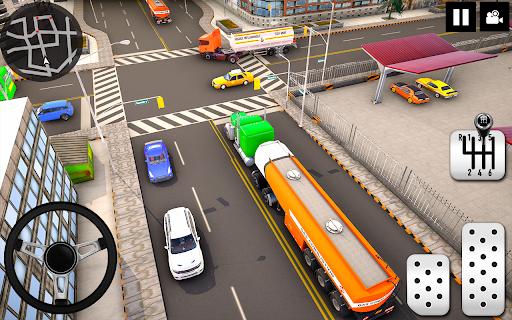 Oil Tanker Truck Driver 3D - Free Truck Games 2020  screenshots 14
