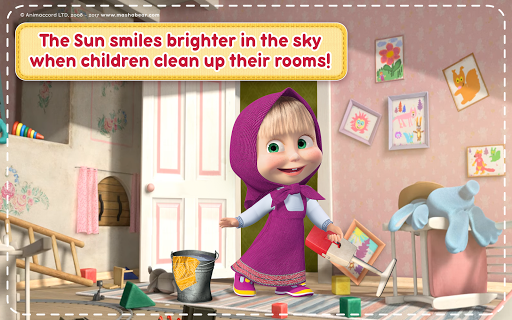 Masha and the Bear: House Cleaning Games for Girls 2.0.0 screenshots 11