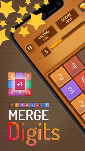 Merge Digits - Puzzle Game  screenshots 1