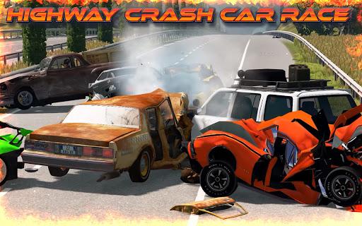 Highway Crash Car Race  screenshots 8