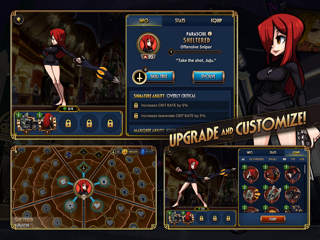 Skullgirls: Fighting RPG  poster 15