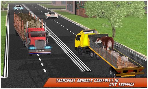 Farm Animal Transport Truck Simulator Driver 2020 2.7 Screenshots 6