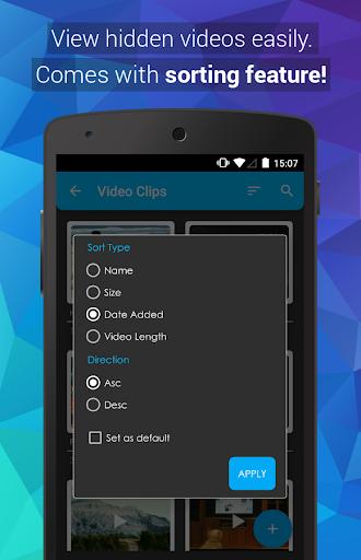 Video Locker - Hide Videos 2.1.3 Screenshots 3