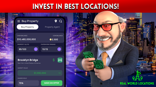 LANDLORD IDLE TYCOON Business Management Game 4.0.5 screenshots 2