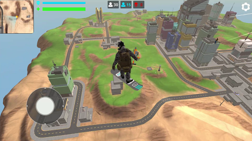Free Battle Royale Fire Force: Shooting games android2mod screenshots 5