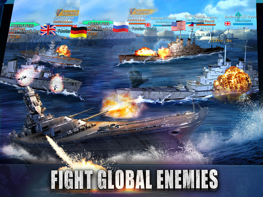 Warship Rising - 10 vs 10 Real-Time Esport Battle 5.7.2 screenshots 17
