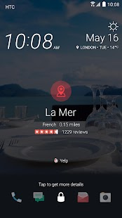 HTC Sense Home Capture d'écran