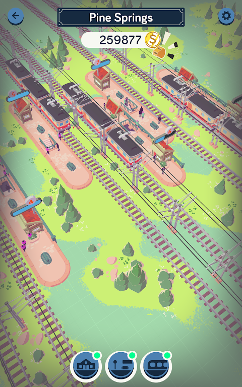 Train Station Idle Tycoon  poster 20