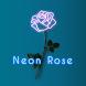 おしゃれな壁紙アイコン Neon Rose 無料