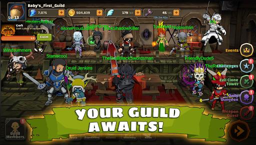 Raid Boss: Role-playing boss game, action battles screenshots 2