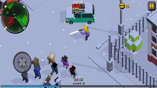 Pixel Zombie Frontier modavailable screenshots 4