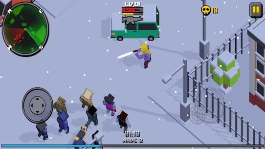 Pixel Zombie Frontier 4