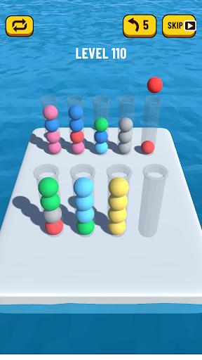 Ball Sort Puzzle 3D 0.7 screenshots 1
